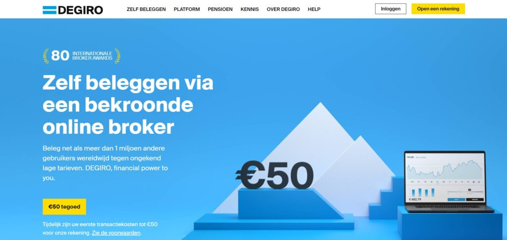 DEGIRO broker beleggen review