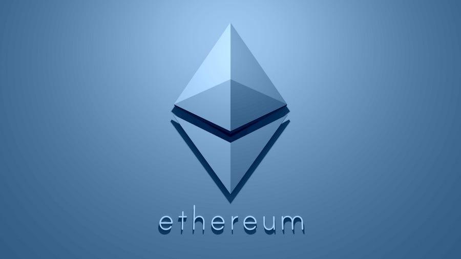 Ethereum cryptocurrency.