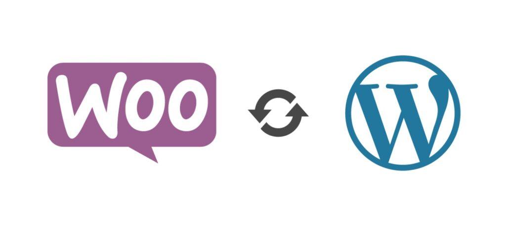 Woo & WP Logo